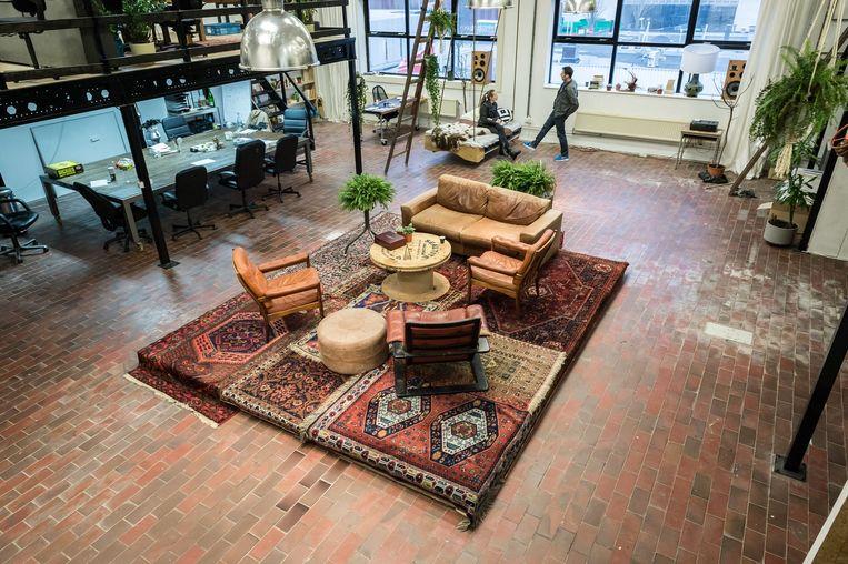 Kantoor van Boompje Studio Beeld Mats van Soolingen