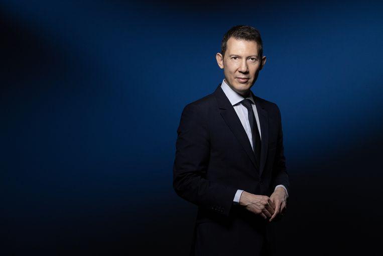 Air France-KLM-topman Ben Smith. Beeld AFP