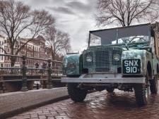 Verloren gewaande show-Land Rover keert na 71 jaar terug naar Amsterdam