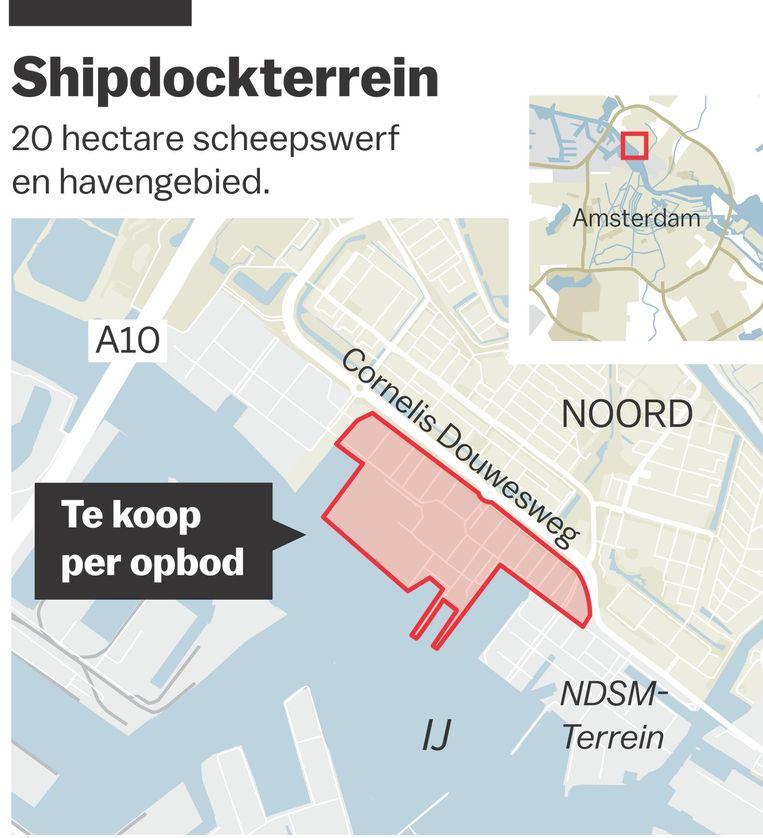 De huidige eigenaren kregen het terrein in 2014 voor één euro in hun bezit Beeld Jorris Verboon