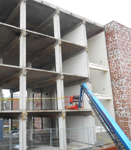 In deze regio bouwt vooral Dordrecht structureel kantoren om tot woonruimte