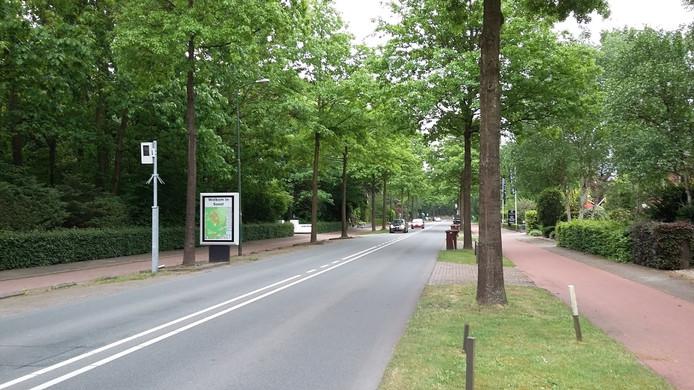 De flitspaal aan de Soesterbergsestraat levert al jaren de meeste bekeuringen op in de regio.