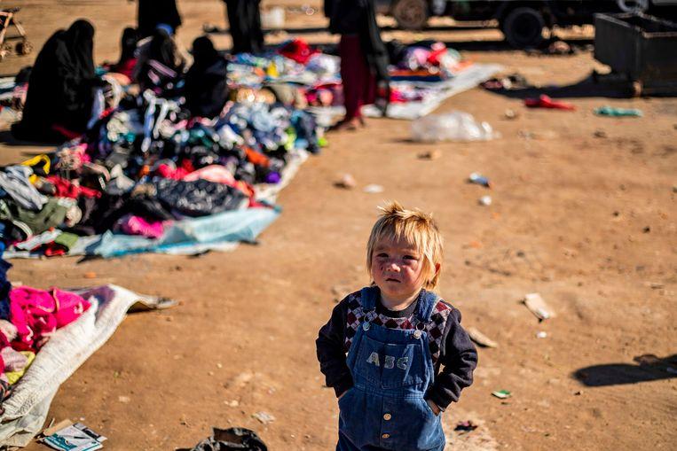 Vorig jaar kwamen 371 kinderen om het leven in het Syrische Al-Holkamp.