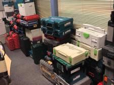 Politie Loosduinen vindt grote hoeveelheid gestolen gereedschap