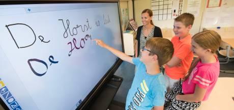 Touchscreen vervangt het digibord in openbaar basisonderwijs