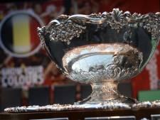 China trekt zich vanwege coronavirus terug uit Davis Cup