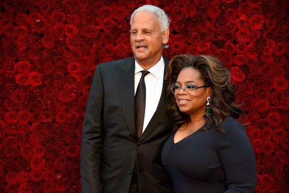 Oprah en haar partner Stedman. Trouwen deden ze nooit.