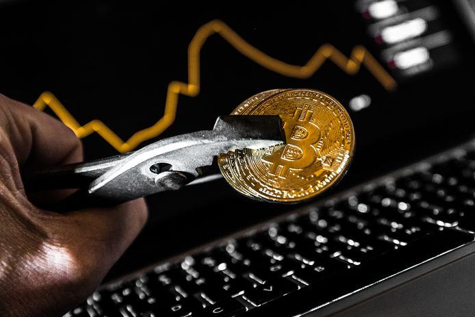 De bitcoin won afgelopen weken wat aan waarde.