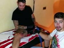 Sagan leeft zich uit met tatoeagenaald