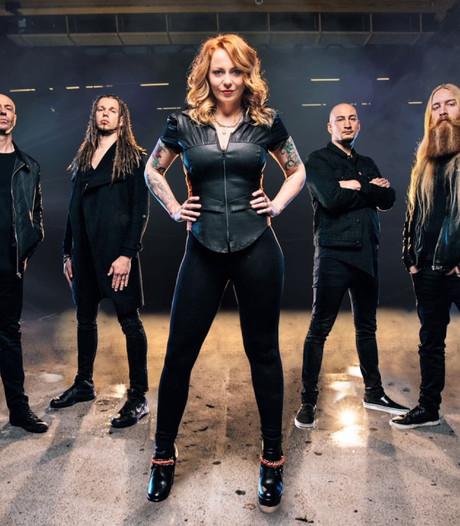 Nieuwe band zangeres Anneke van Giersbergen uit De Rips