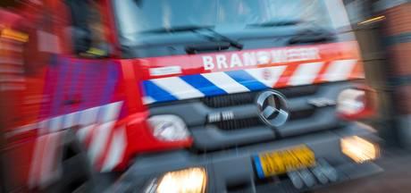 Autobrand in Tesselschadestraat Dordrecht