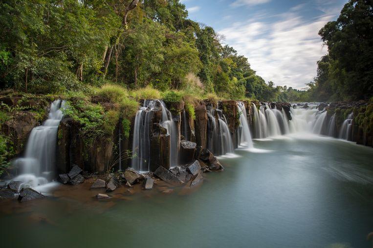 Het Bolavenplateau in Laos wordt onder meer gekenmerkt door indrukwekkende watervallen.