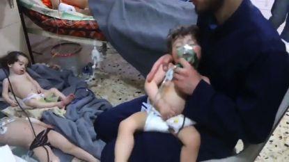 """Rusland voert """"getuigen van in elkaar gedraaide gifgasaanval"""" in Syrië op"""