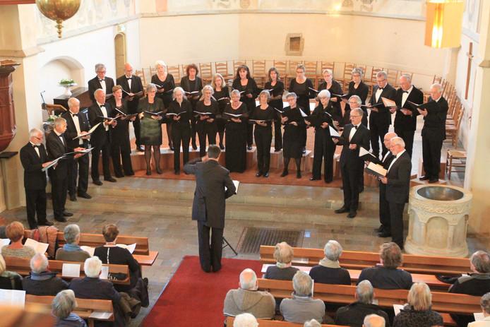 Concert door het Achterhoeks Bachkoor.