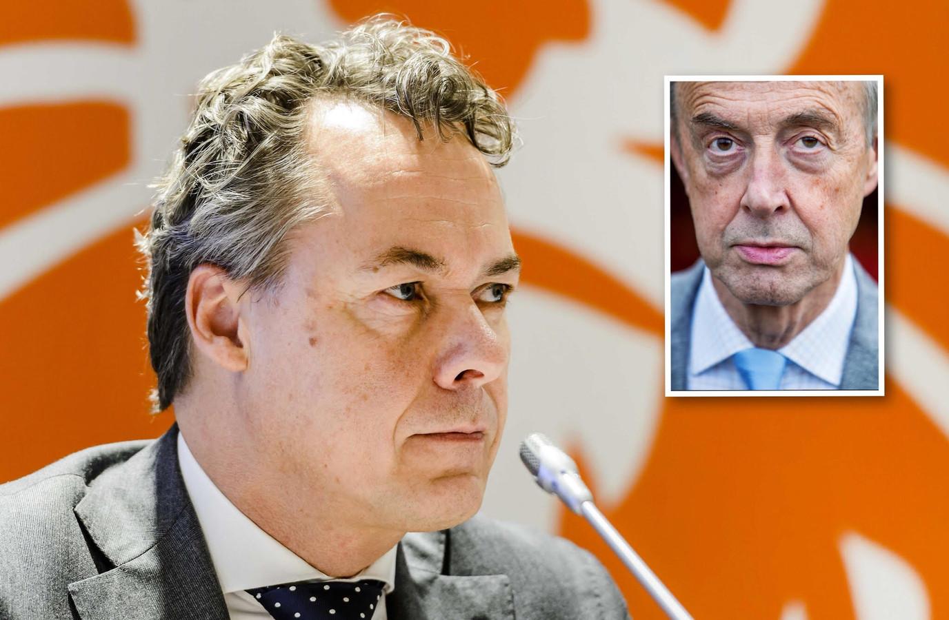 ING-baas Ralph Hamers met inzet Pieter Lakeman