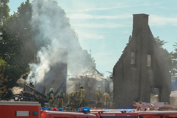 woningbrand in Overijse