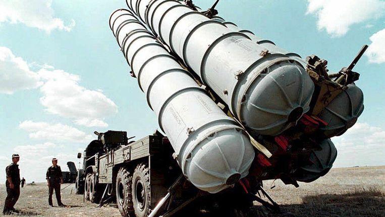 Een S-300 raketinstallatie. Beeld epa