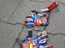 Fietsster gewond door aanrijding in Reek; scooterrijder slaat op de vlucht