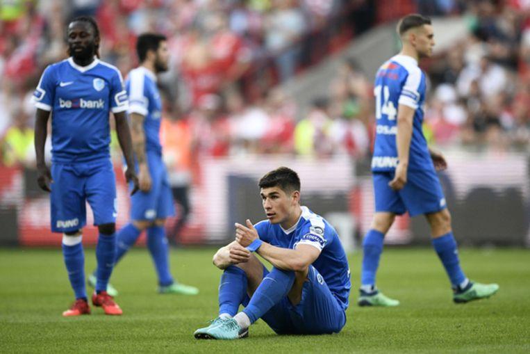 De Genkse spelers zijn enorm ontgoocheld na de 5-0-pandoering bij Standard. Pakken ze in het Astridpark hun eerste uitzege van de play-offs?