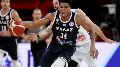 Griekenland en sterspeler Antetokounmpo moeten inpakken op WK basket