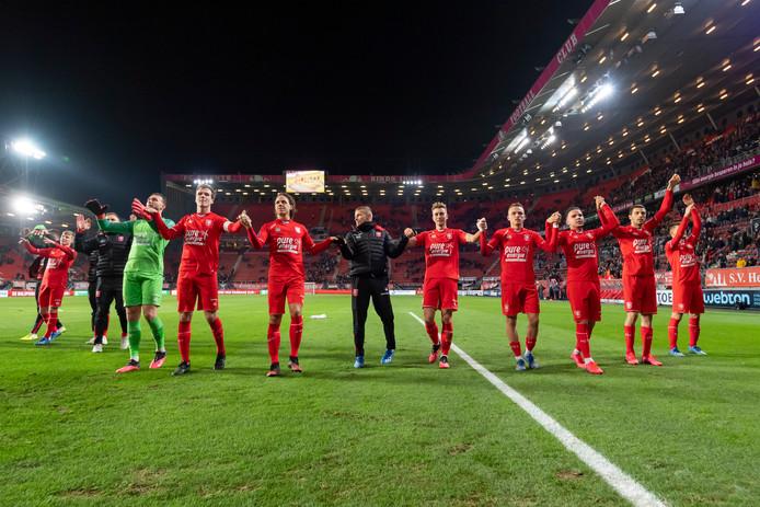 FC Twente won zaterdag verrassend van AZ en treft nu FC Utrecht uit.
