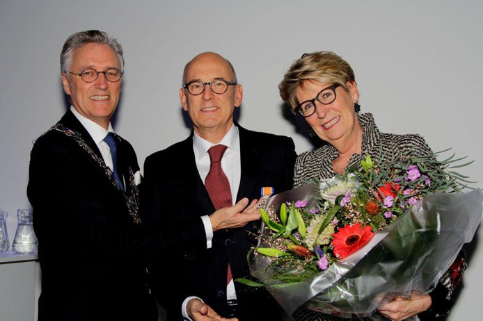 Koninklijke onderscheiding voor gynaecoloog Diederik Veersema.