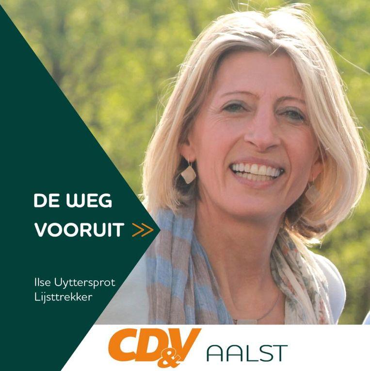 Ilse Uyttersprot is lijsttrekker van CD&V in Aalst.
