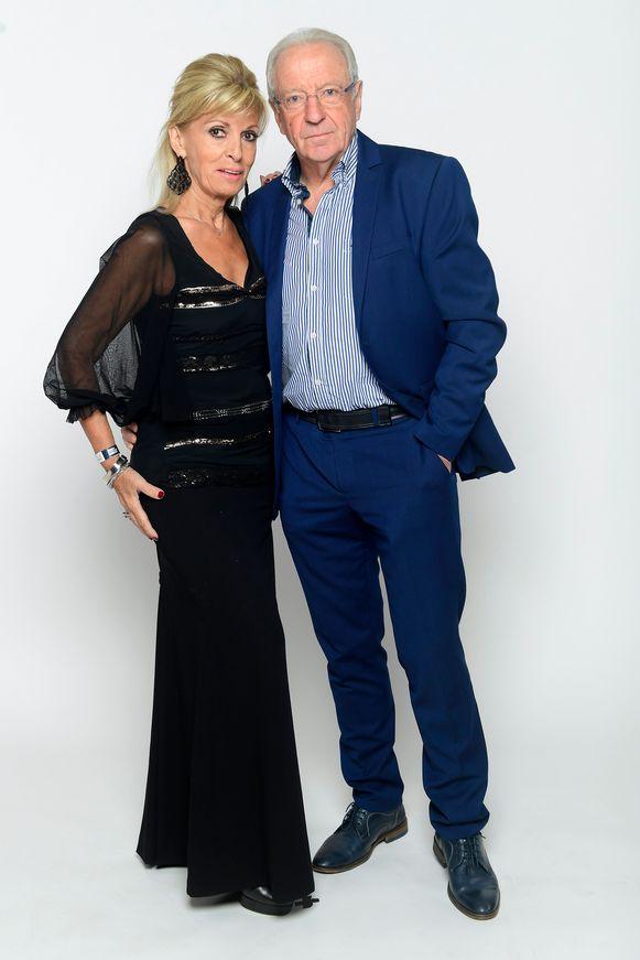 José De Cauwer en partner Sylvana Dendas
