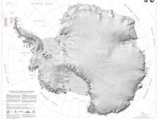 Nieuwe kaart van Antarctica legt alle geheimen van het continent bloot
