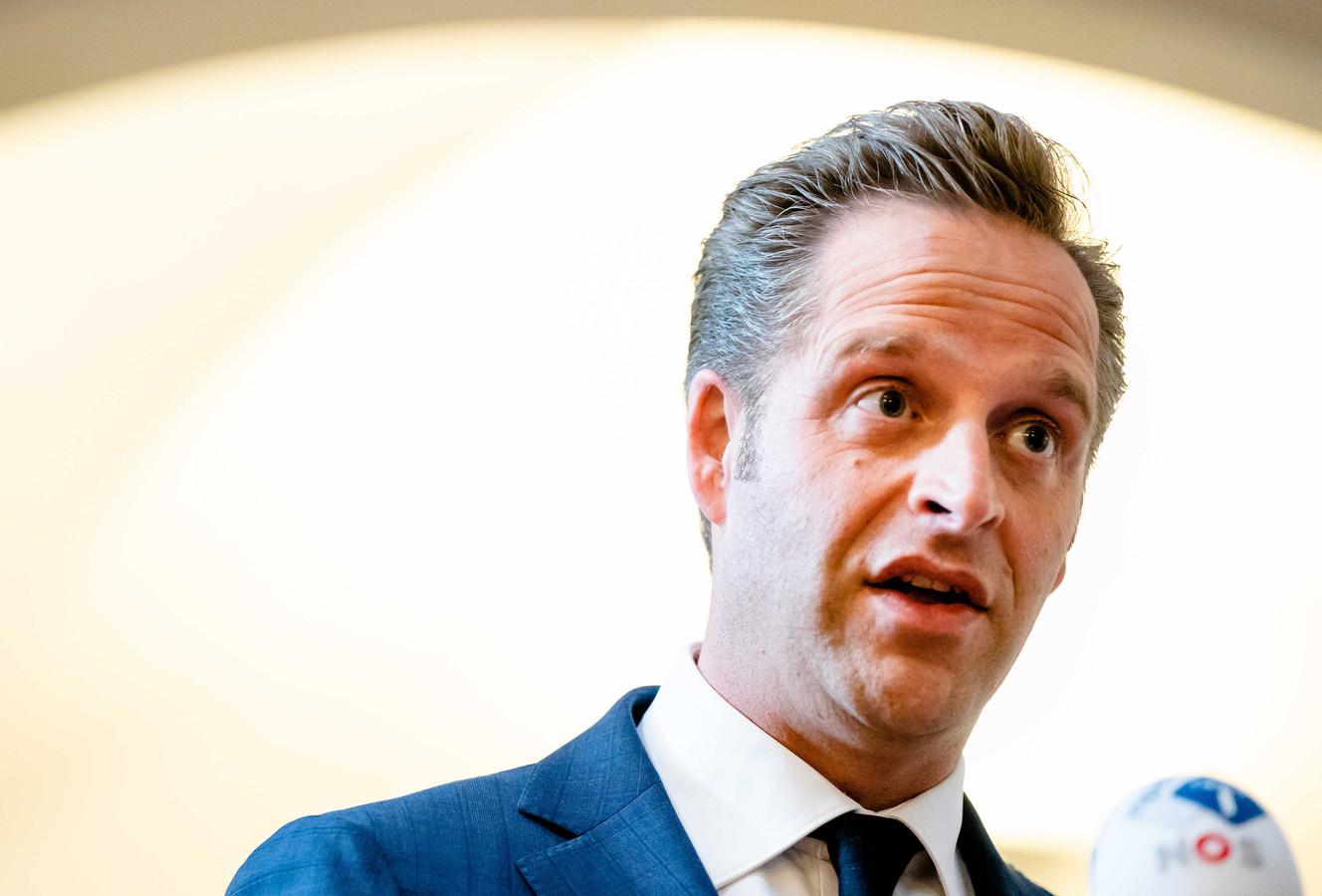 Minister Hugo de Jonge van Volksgezondheid, Welzijn en Sport (CDA).