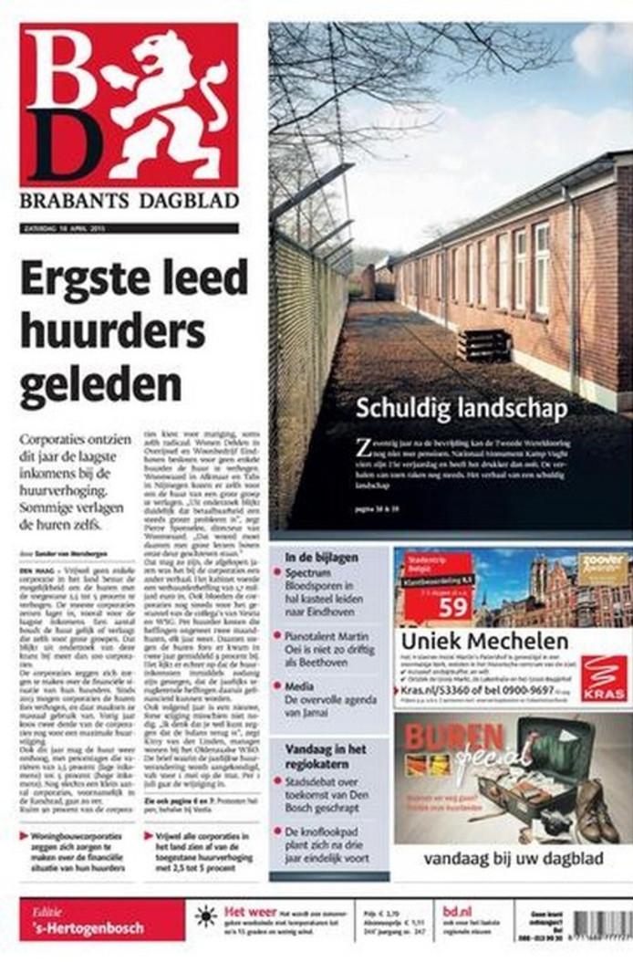 Vandaag in het Brabants Dagblad: 42 jaar clubarts, tellen ...
