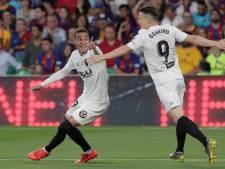Cillessen laat zich met Barça verrassen in bekerfinale tegen Valencia