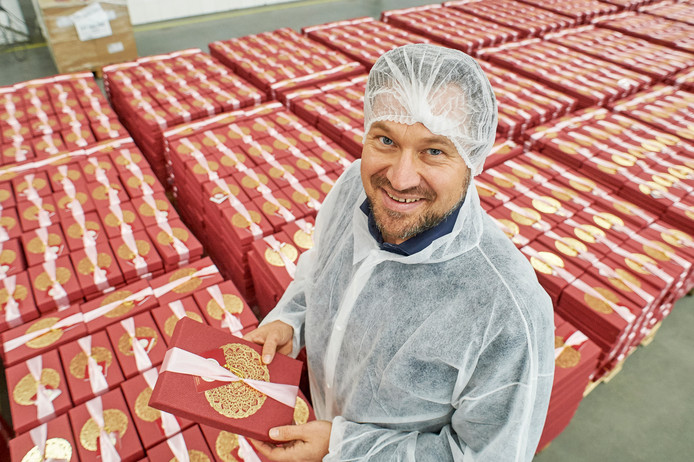Mark van der Burgt van Vetipak. Het bedrijf pompte dit jaar miljoenen in groei.