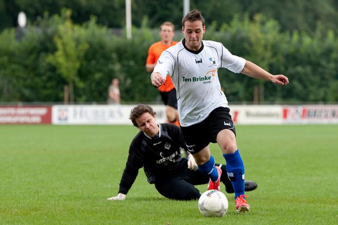 Dave Ankersmit scoorde voor Varsseveld.