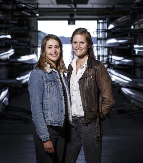 Tweeling Martine en Marike Veldhuis uit Wierden klaar voor het WK roeien