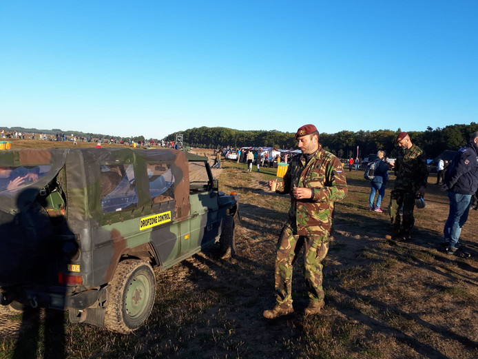 De eerste militairen melden zich al op de Ginkelse Heide