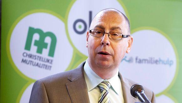 """""""Werklozen naar een leefloon duwen lost de problemen niet op"""", zegt voorzitter Marc Leemans."""