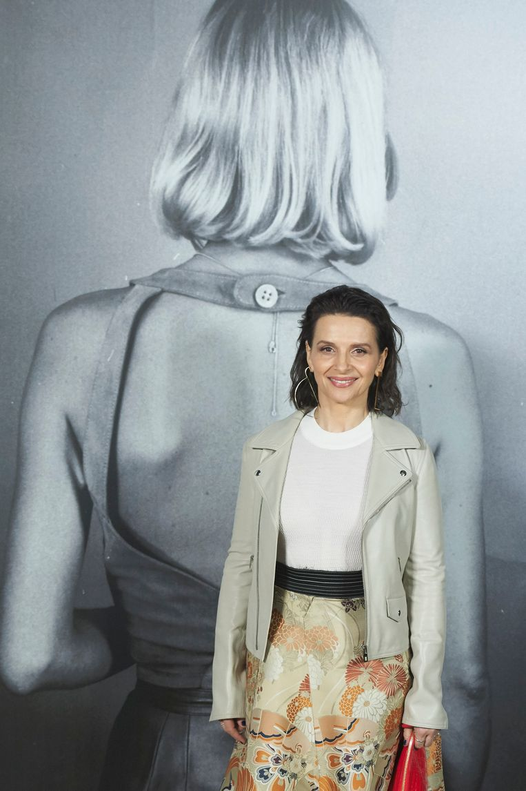Juliette Binoche in 2016. Beeld Getty Images