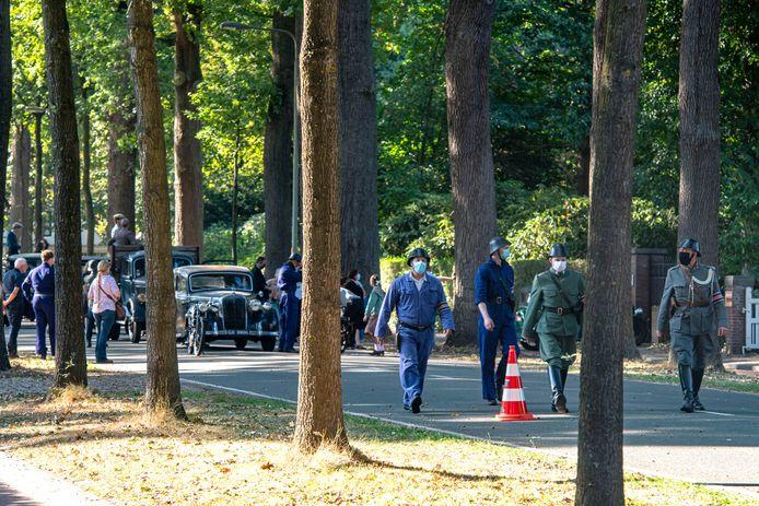 Tilburg - Pix4Profs - Joris Buijs De Bredaseweg is afgesloten voor film opname van De Stamhouder