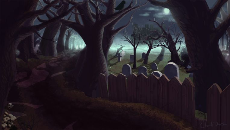 Schets voor WitchWorld. Beeld WitchWorld