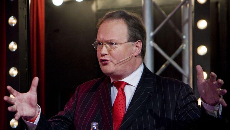 Hans van Baalen in februari 2010 in Amsterdam. Beeld ANP