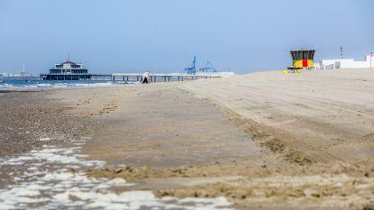 Strandplan Blankenberge laat 10.000 badgasten toe: 'Hard strand' vrij toegankelijk, 'zacht strand' niet