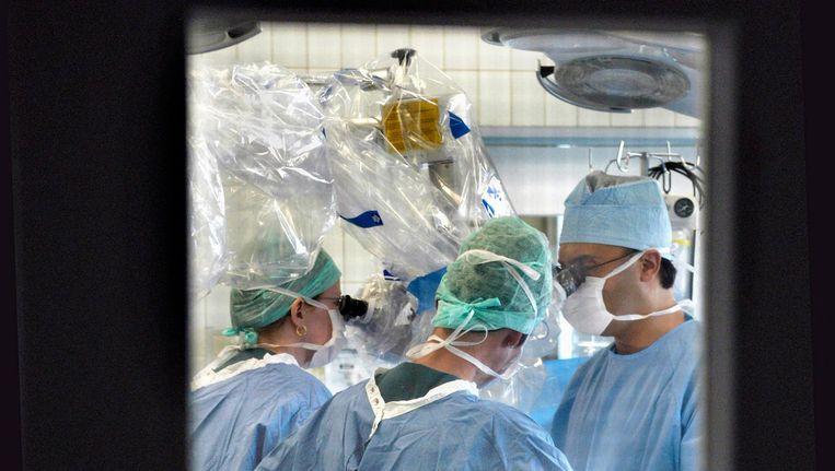 Achter de deuren van een orgaandonatie. Beeld Hollandse Hoogte/Flip Franssen