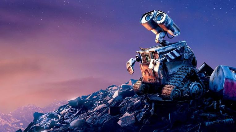Wall-E Beeld Pixar