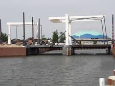 De ophaalbrug over de Vissershaven is klaar