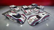 Lancia-collectie met Martini-striping maakt liefhebbers dorstig, geschatte veilingopbrengst: 6,8 miljoen euro