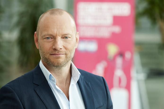 Søren Abildgaard, topman van T-Mobile Nederland.