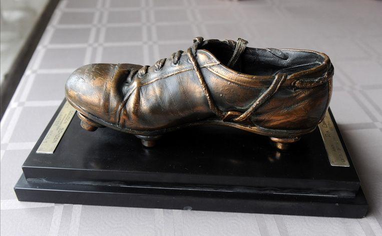 De allereerste Gouden Schoen van wijlen Rik Coppens.