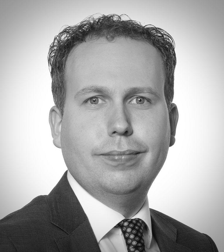 Christian Verhagen. Senior-adviseur data & analytics voor de publieke sector bij ICT-adviesbureau Verdonck, Klooster & Associates. Beeld