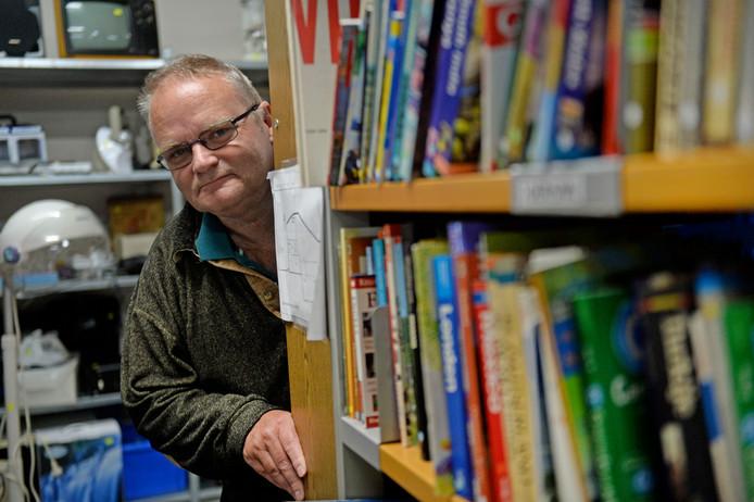 Bart ter Horst heeft zijn hart aan boeken verpand.